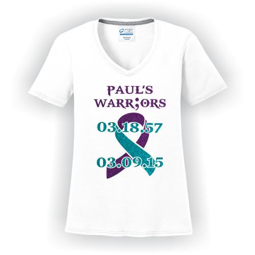 Paul's Warriors Glitter V-Neck Shirt